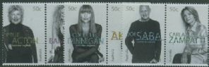 AUS SG2467-72 Australian Legends (9th series): Fashion Designers set of 6